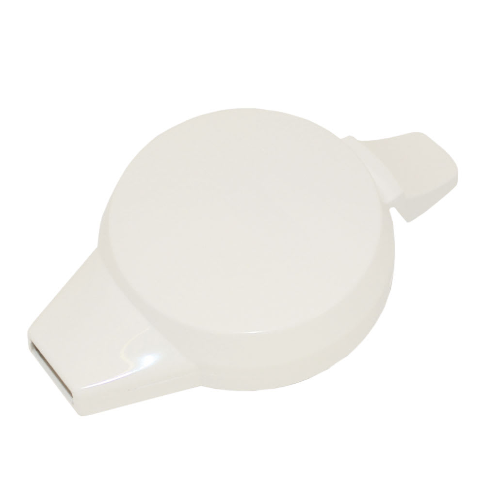 Service Ideas NGLWWH Welded Push Button Lid For 501, 101, 315 & 421 Servers, White