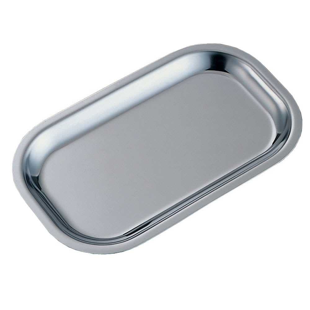 Service Ideas OT11SS Rectangular Platter Insert For OT11 Platter, Small, Stainless