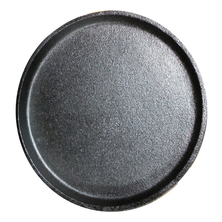 "Service Ideas RP18 9.25"" Cast Iron Skillet, Round"