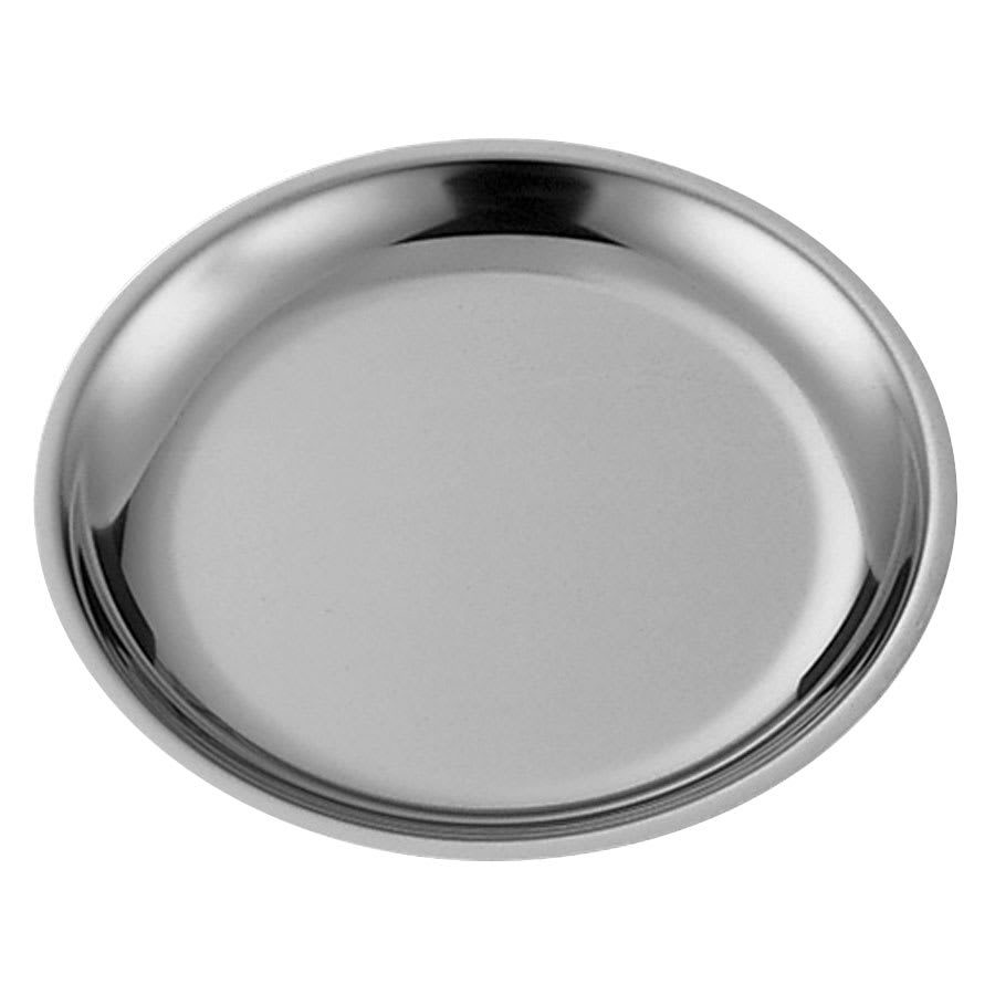 "Service Ideas RT10SS 10"" Round Platter Insert for RT10 Platters, Stainless"