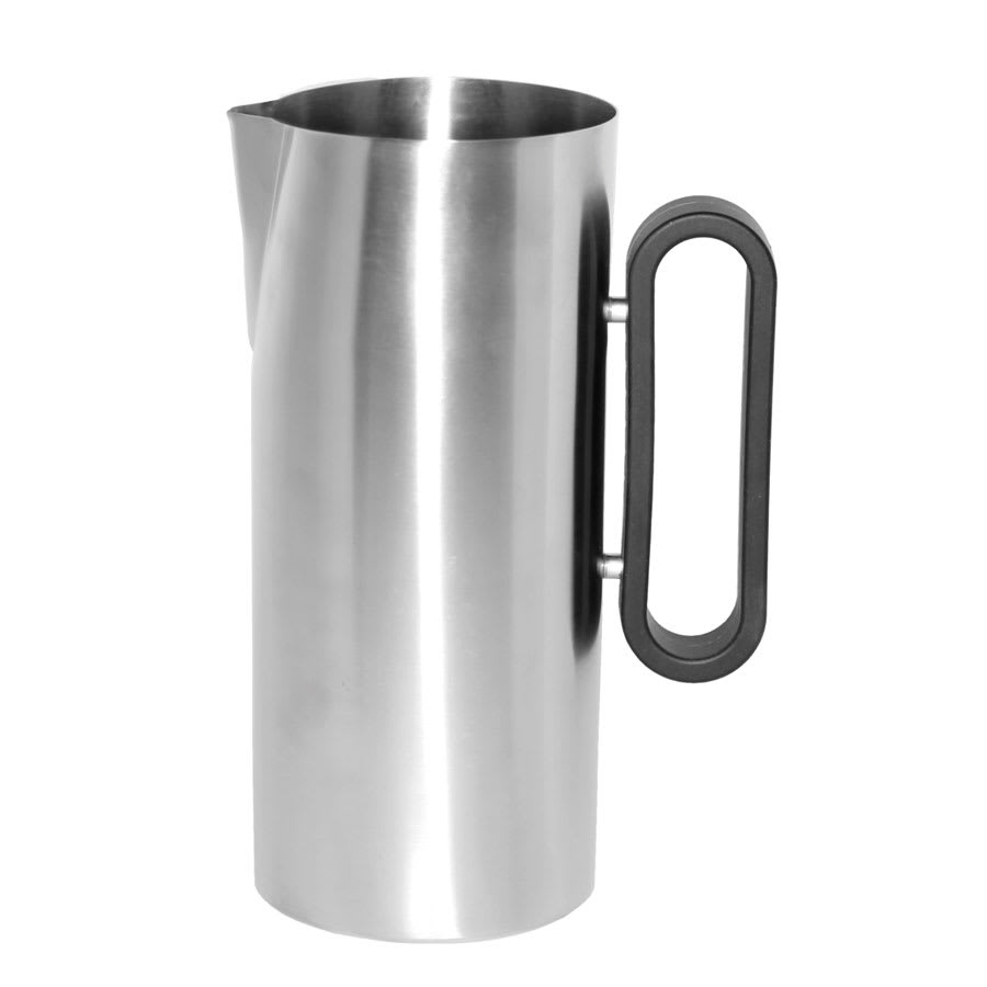 Service Ideas SB-24 64-oz Water Pitcher w/ Silicone Handle, 4.25 x 9.5""
