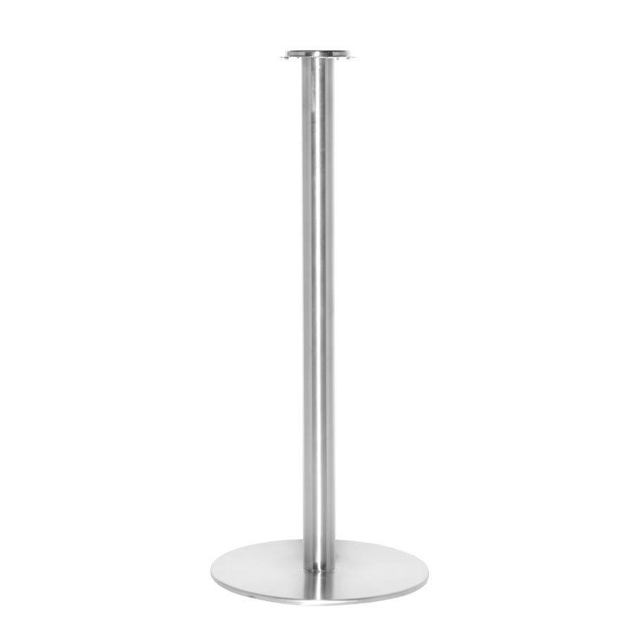 "Service Ideas SB-4 Bucket Stand w/ 25 x 10"" Base, Stainless, Brushed Finish"