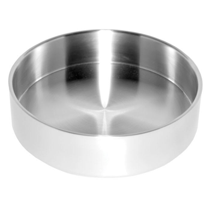 "Service Ideas SB-46 6.9-qt Serving Bowl w/ Double Wall Insulation, 10 x 3.2"", Brushed Finish"