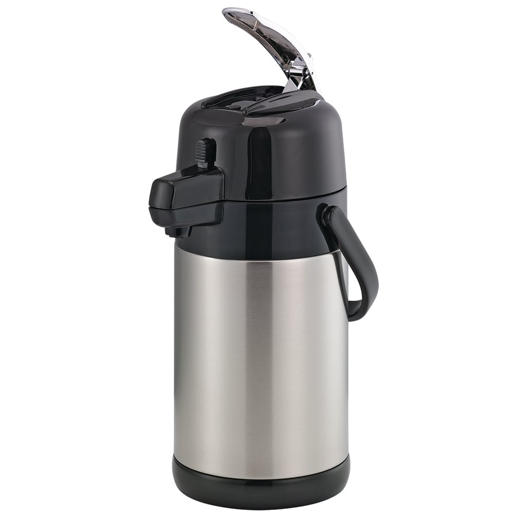 Service Ideas SECAL19S 1.9-liter Airpot w/ Interchangeable Lever Lid, Unbreakable Liner