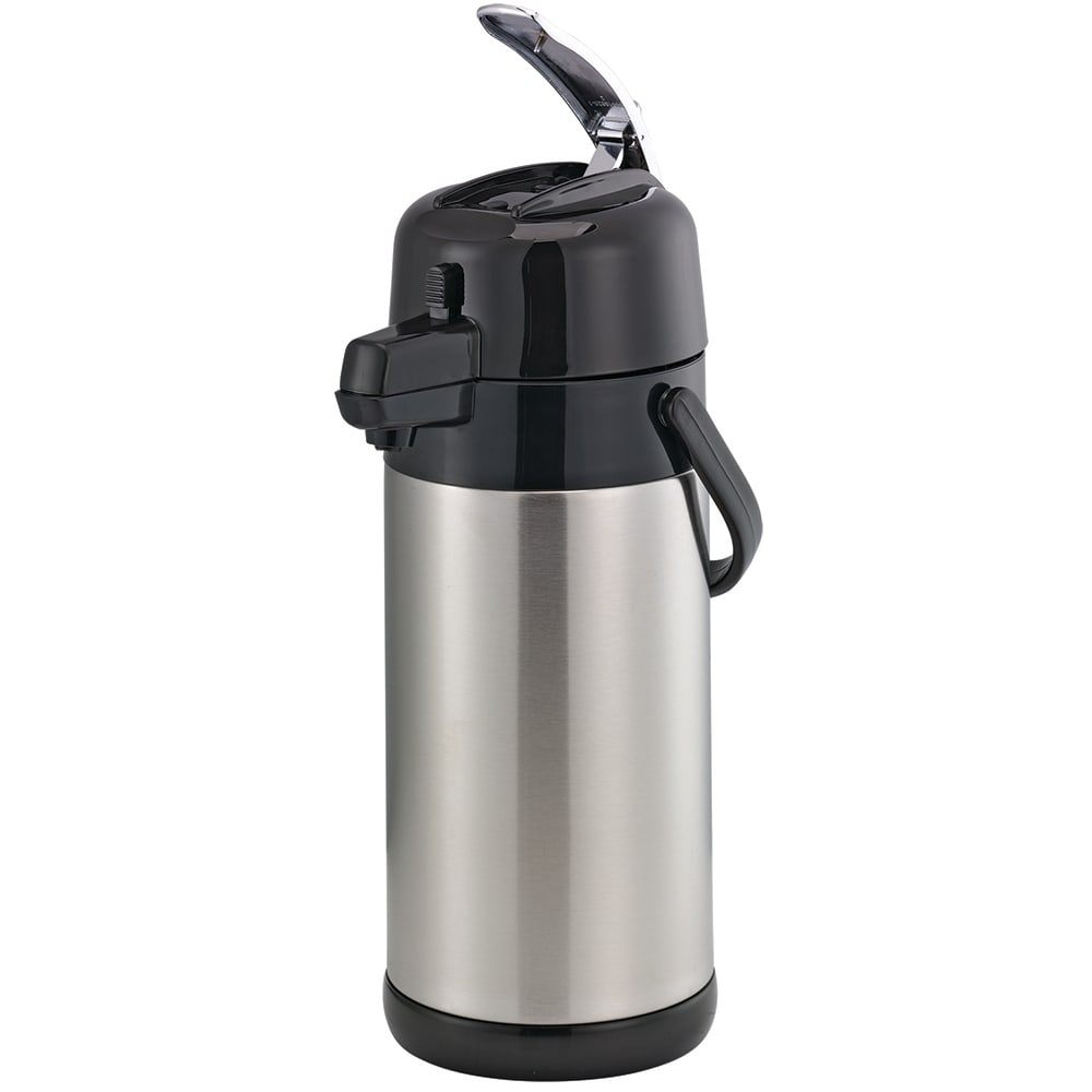 Service Ideas SECAL25S 2.5-liter Airpot w/ Interchangeable Lever Lid, Unbreakable Liner
