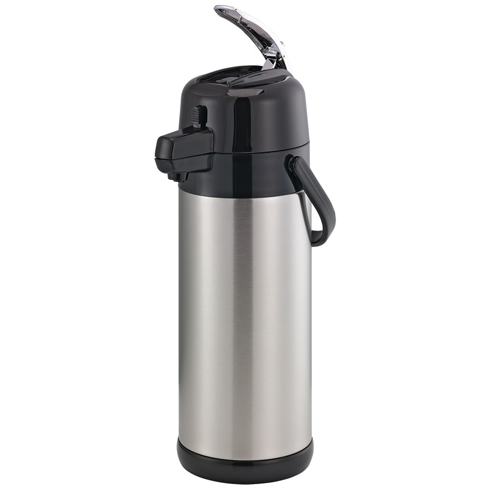 Service Ideas SECAL30SS 3 liter Lever-Action Airpot - Stainless Liner, Stainless