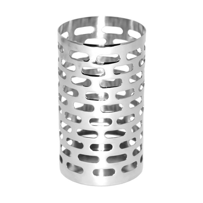 "Service Ideas SM-70 Bread Stick Holder, 3.5 x 6"", Stainless w/ Mirror Finish"