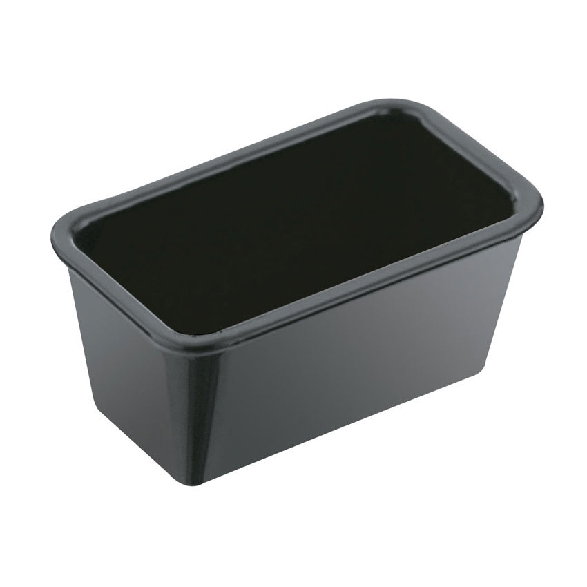 "Service Ideas SPH5BL 5"" Sugar Packet Holder, Black"