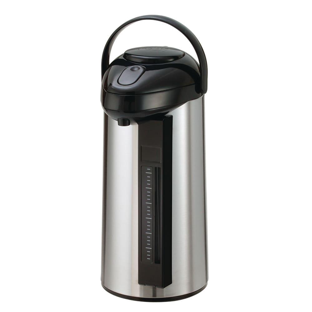 Service Ideas SSA300SG 3-liter Airpot w/ Interchangeable Pump Lid, Sight-Glass