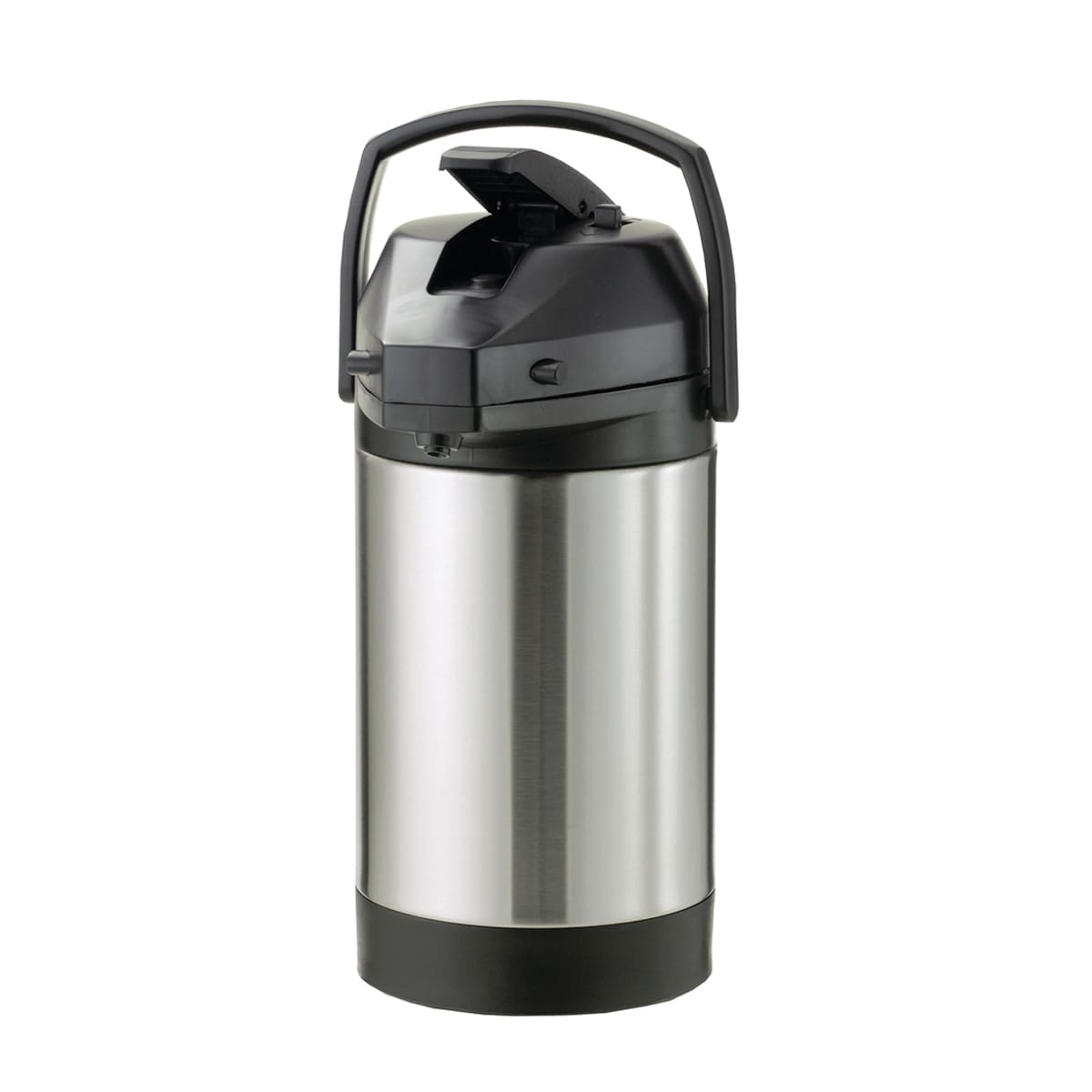 Service Ideas SVAP38CPL 3.8-liter Airpot w/ Interchangeable Lever Lid, Brushed Stainless