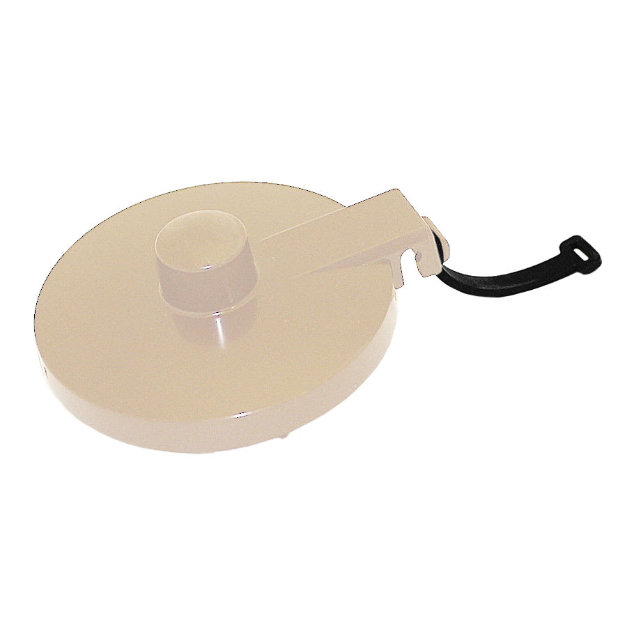 Service Ideas TPLTAL Replacement Lid w/ Tether For TS612 Teapot, Almond
