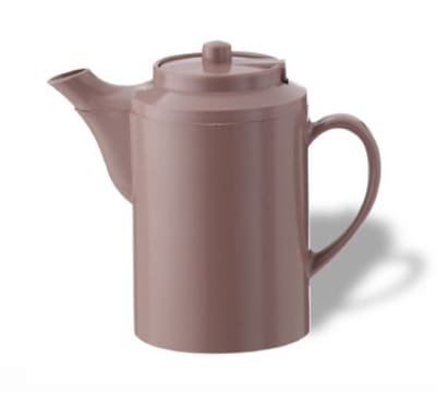 Service Ideas TS612MV 16-oz Dripless Teapot w/ Baffled Spout, Self-Locking Lid, Mauve
