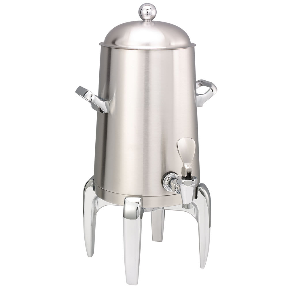 Service Ideas URN15VBS2 1.5 Gal Coffee Urn w/ Vacuum Insulation, Brushed Stainless