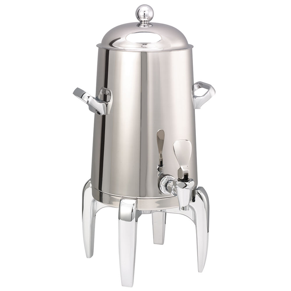 Service Ideas URN15VPS2 Vacuum Insulated Coffee Urn w/ 1.5-gal Capacity, Chrome Accents, Stainless
