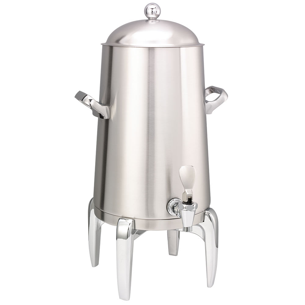 Service Ideas URN30VBS2 3 Gal Coffee Urn w/ Vacuum Insulation, Brushed Stainless