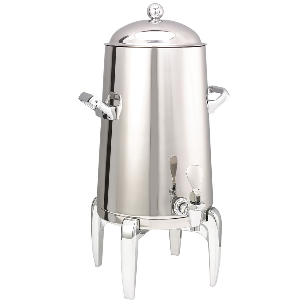 Service Ideas URN30VPS2 3-Gallon Vacuum Insulated Urn, Polished Stainless w/ Chrome Accent