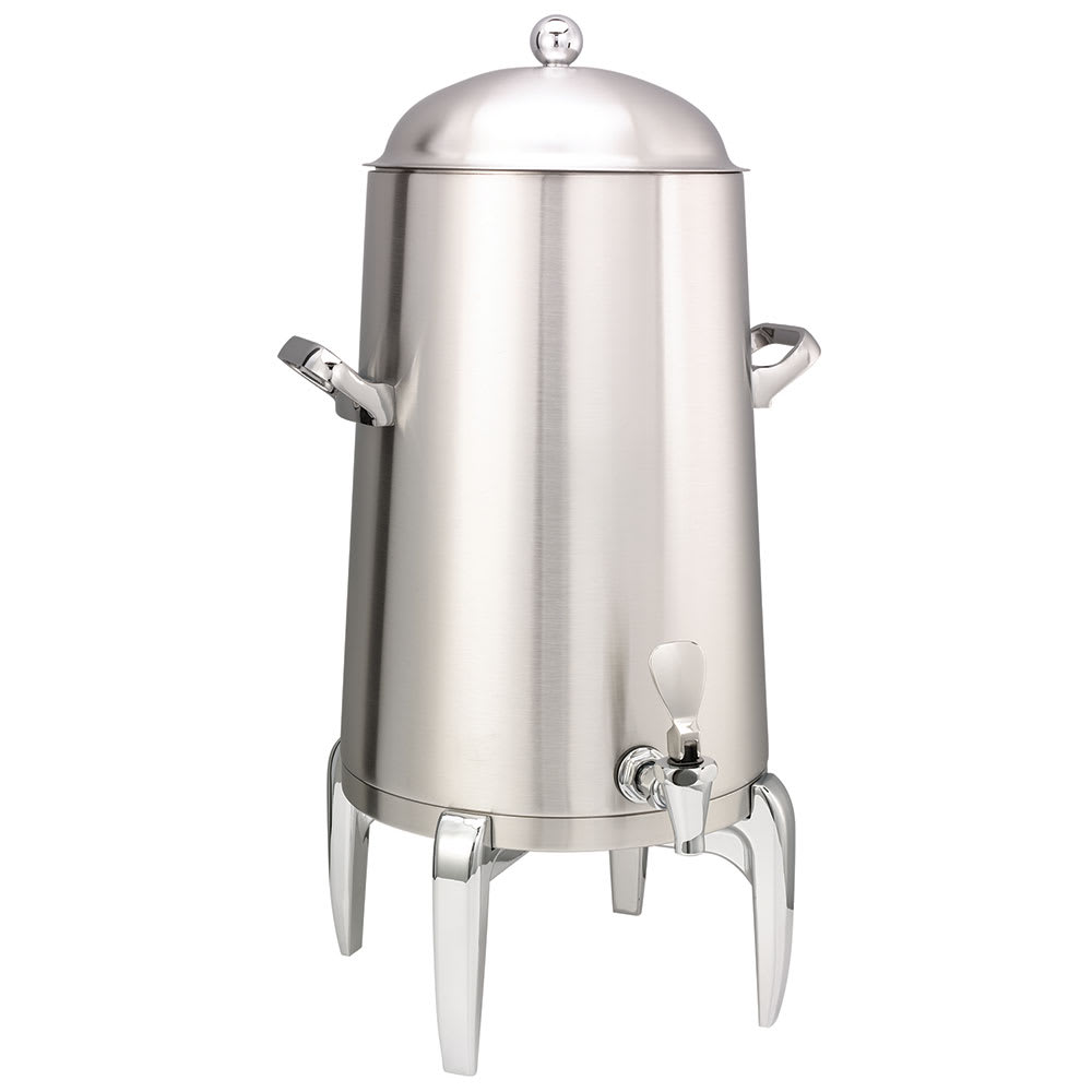 Service Ideas URN50VBS2 5-Gal Coffee Urn w/ Vacuum Insulation, Brushed Stainless