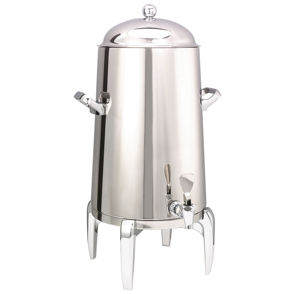 Service Ideas URN50VPS2 Vacuum Insulated Coffee Urn w/ 5-Gal Capacity, Chrome Accents, Stainless