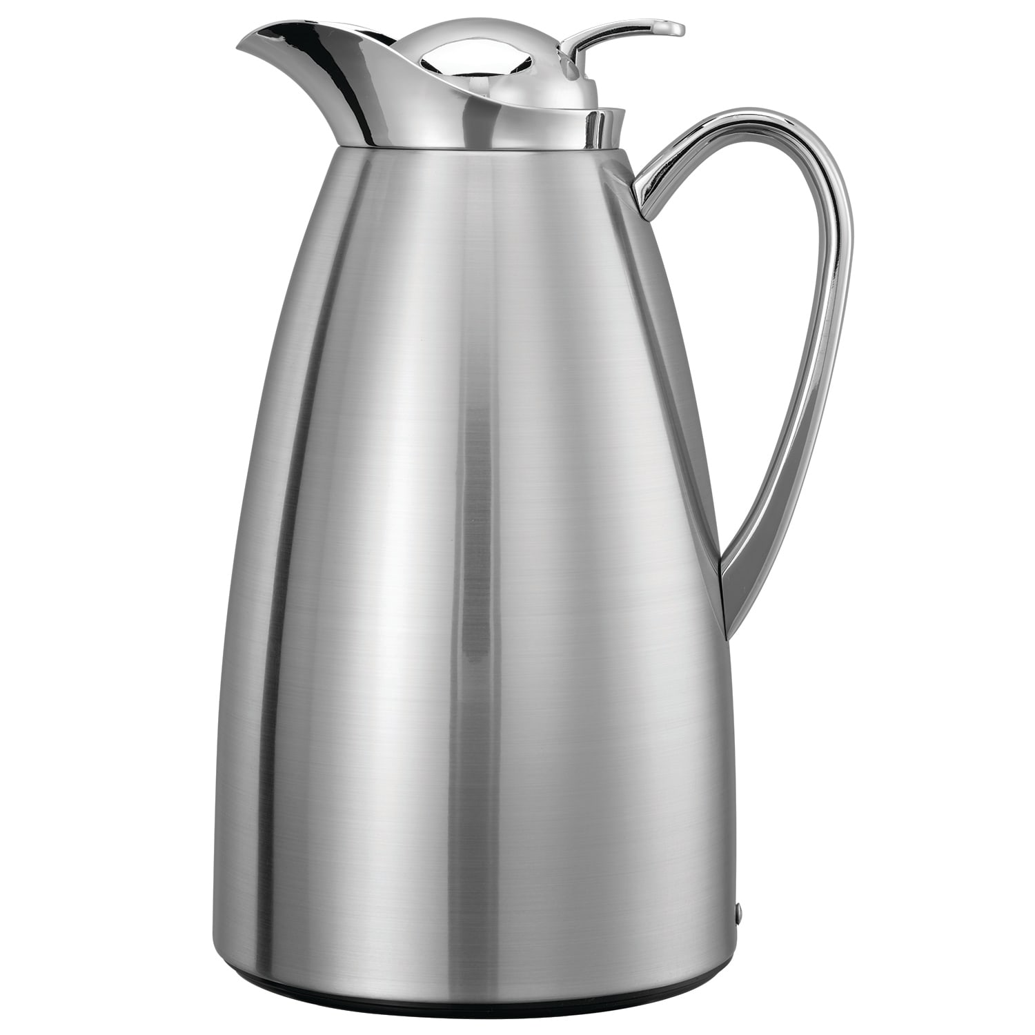 Service Ideas CJZS1BS 1 liter Coffee Server w/ Stainless Interior, Brushed Stainless