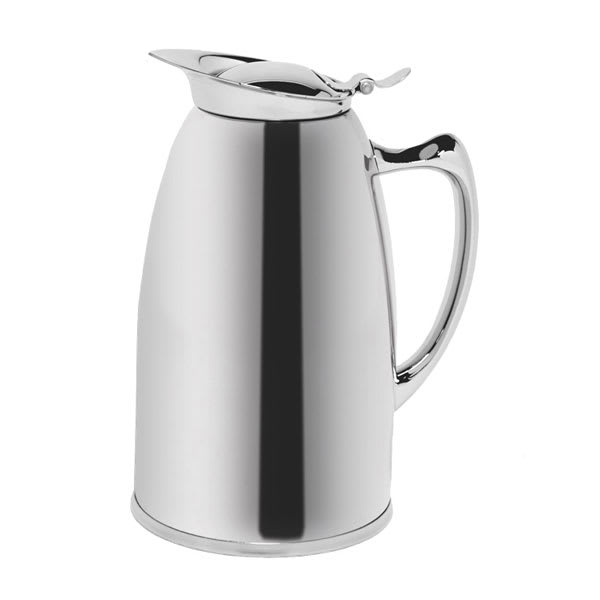 Service Ideas WP6CH .6 liter Pitcher w/ Double Wall Insulation, Polished Stainless