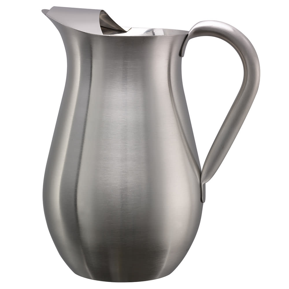 Service Ideas WPB2BS 68 oz Pitcher w/ Guard - Stainless