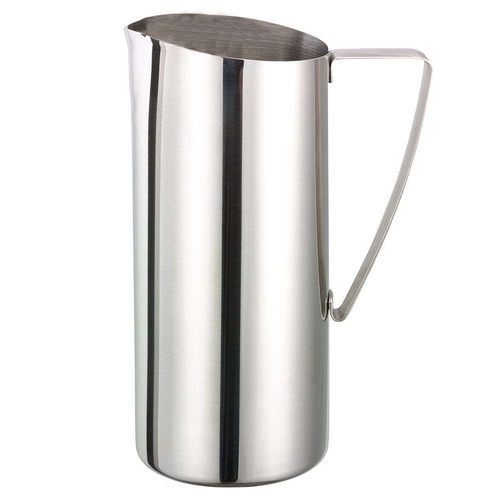 Service Ideas X7025NG 64 oz Water Pitcher, Stainless