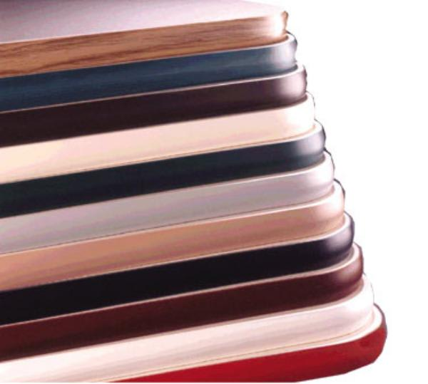 Waymar VP01252442 Tabletop, 24 in x 42 in 1-1/4 in Thick, Laminate w/ Vinyl Bullnose Edge
