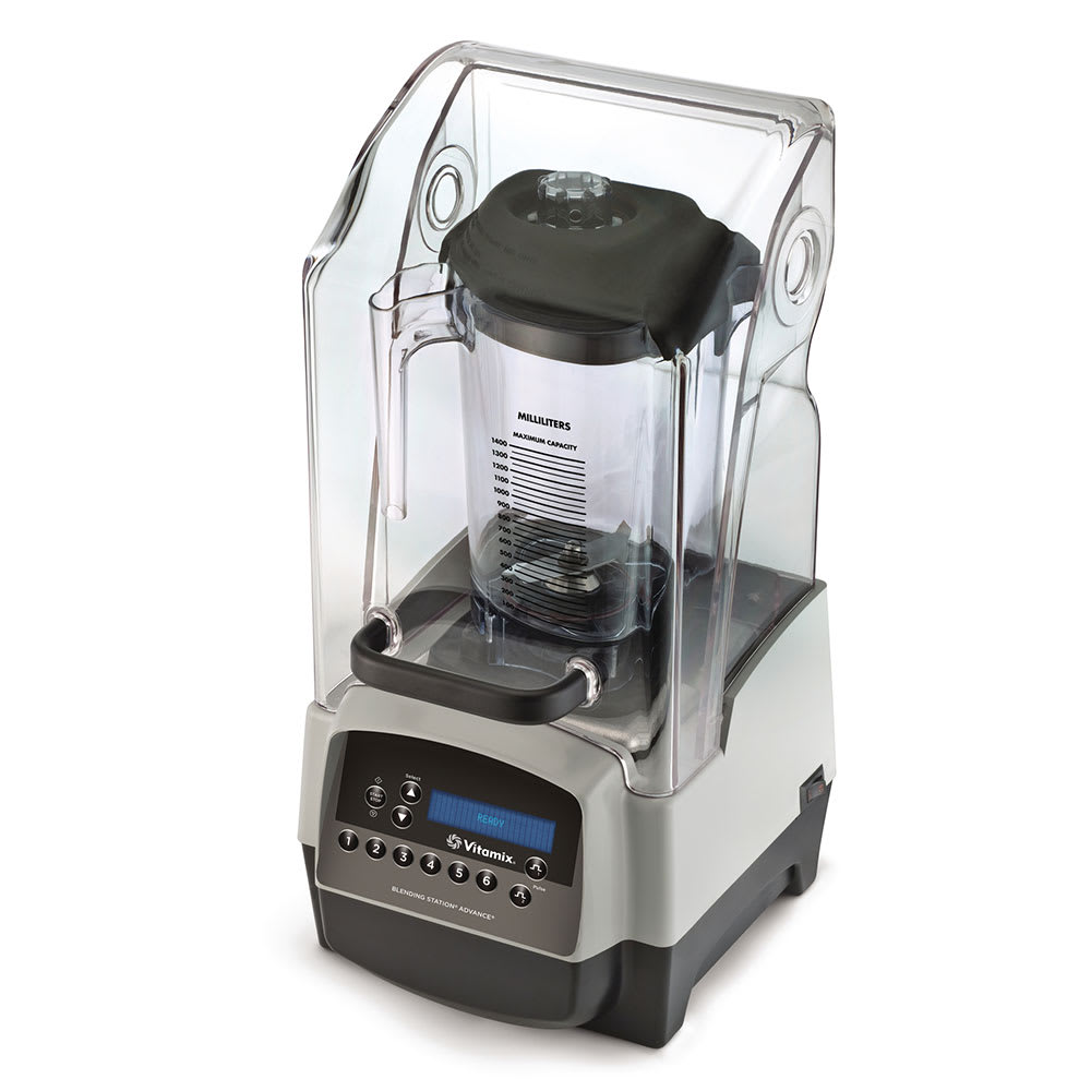 Vitamix Commercial 36021 Blending Station Drink Blender w/ Tritan Container, Sound Enclosure