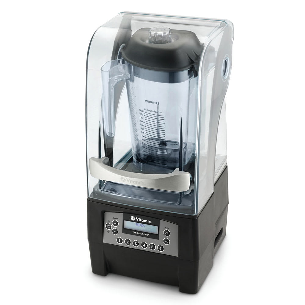 Vitamix Commercial 40009 The Quiet One Drink Blender w/ Tritan Container - In-counter Model w/ Sound Enclosure