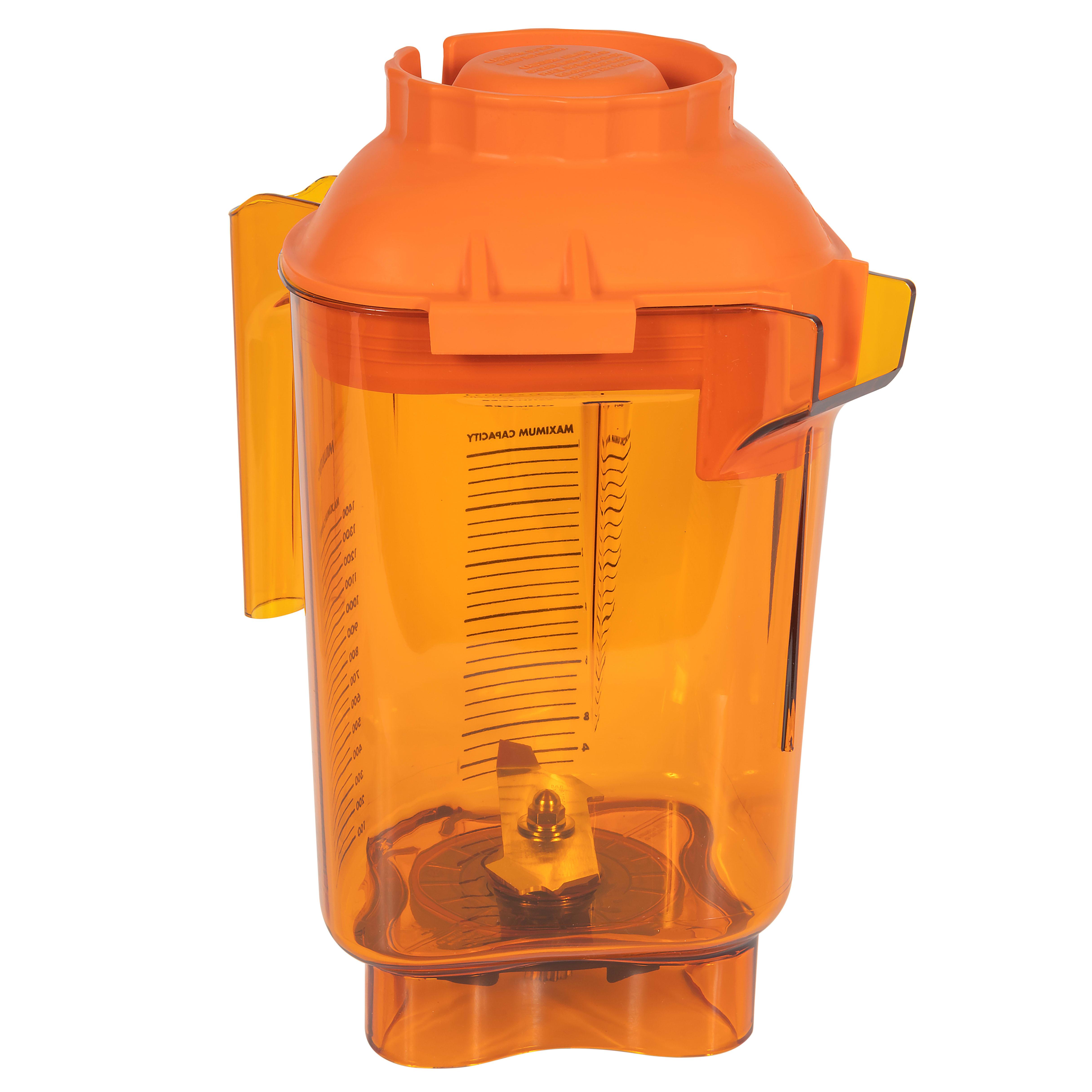 Vitamix 58990 48 oz Advance® Complete Blender Container - Tritan, Orange