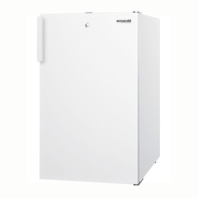 Accucold FF511L 4.1 cu ft Undercounter Refrigerator w/ (1) Section & (1) Door, 115v