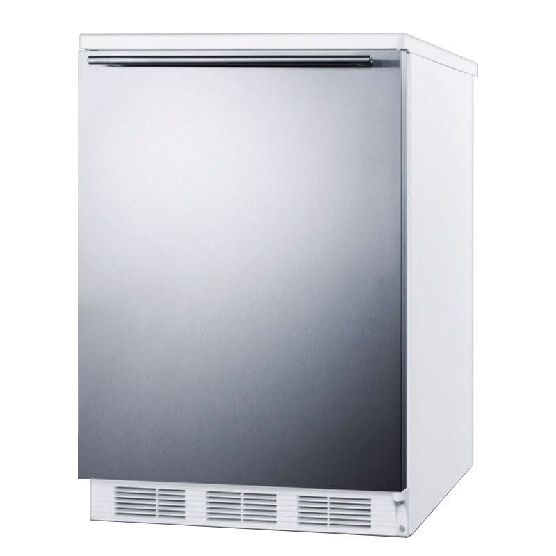 Accucold FF67SSHH 5.5 cu ft Undercounter Refrigerator w/ (1) Section & (1) Door, 115v