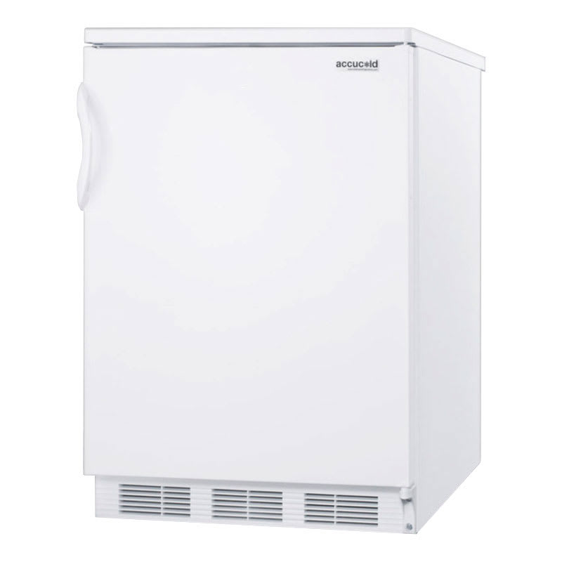 Accucold FF7 5.5 cu ft Undercounter Refrigerator w/ (1) Section & (1) Door, 115v