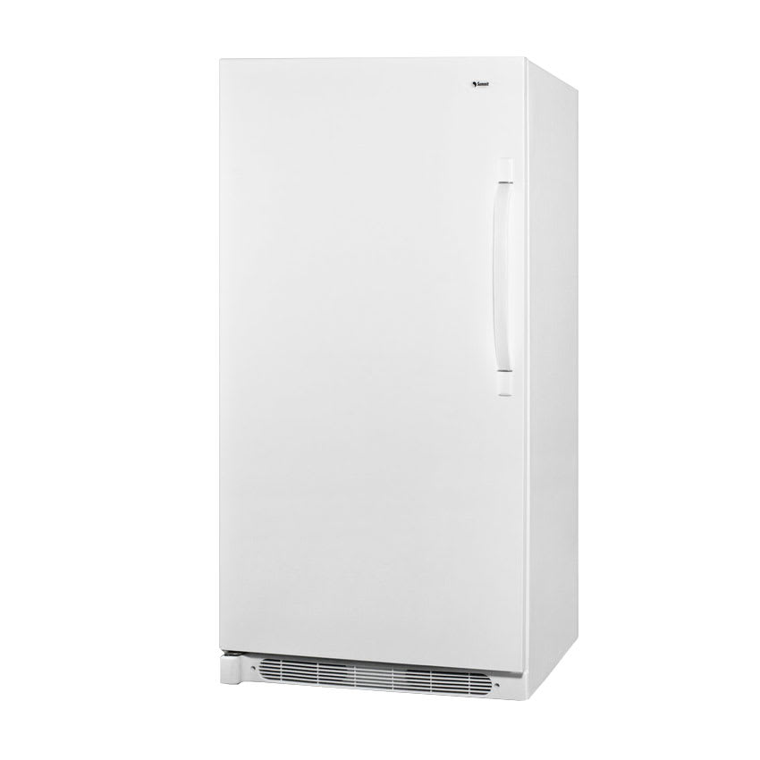 Accucold R17FFLHD 1 Section Refrigerator w/ (4) Shelves, White, 16.5 cu ft