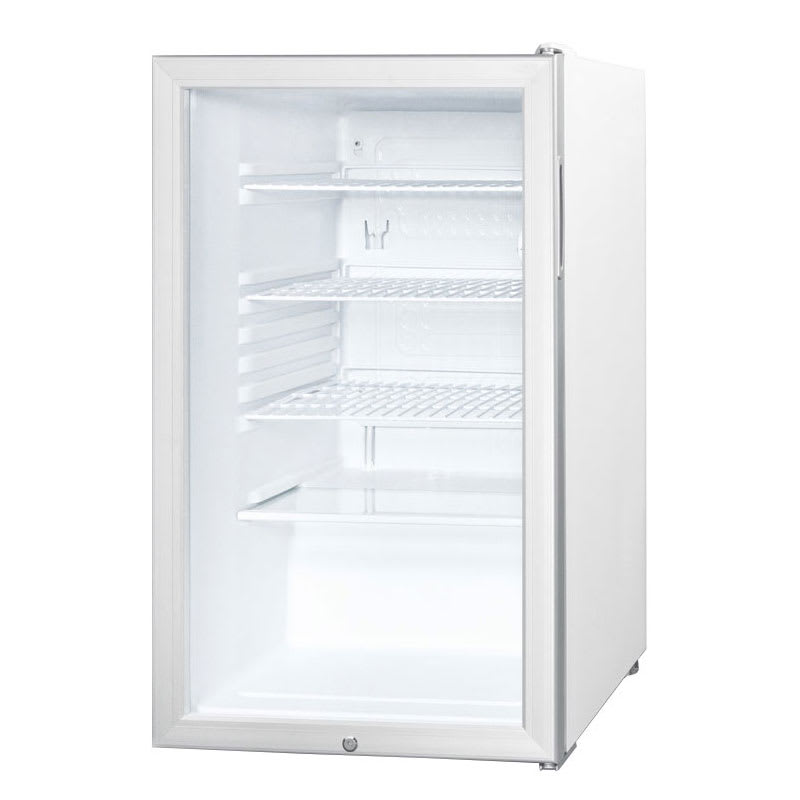 Accucold SCR450L 4.1 cu ft Undercounter Refrigerator w/ (1) Section & (1) Door, 115v