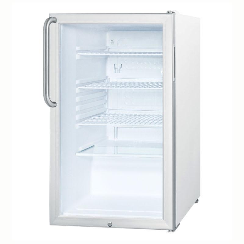 Accucold SCR450LTB Undercounter Medical Refrigerator - Locking, 115v