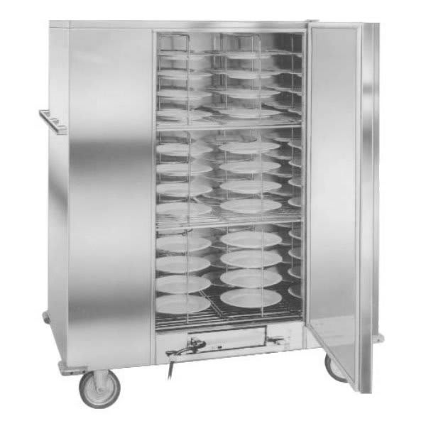 Carter-Hoffmann BB120E Heated Economy Banquet Cabinet, 144 Plate Capacity, Stainless