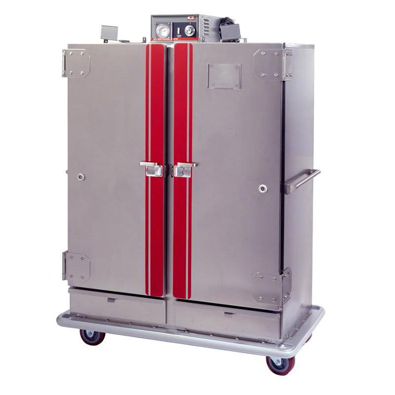 """Carter-Hoffmann BB1300XX Heated Banquet Cabinet, 2-Door, (120) 12.75"""" Plates, Casters"""