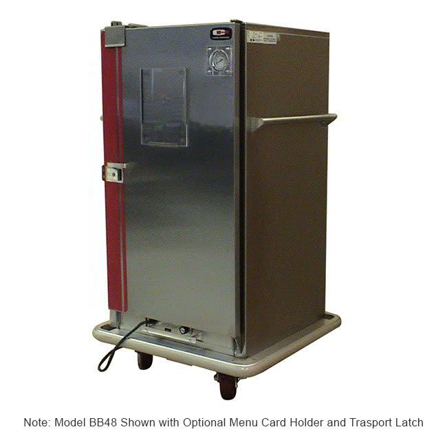 Carter-Hoffmann BB40 Heated Banquet Cabinet w/ 48 Plate Capacity, Stainless