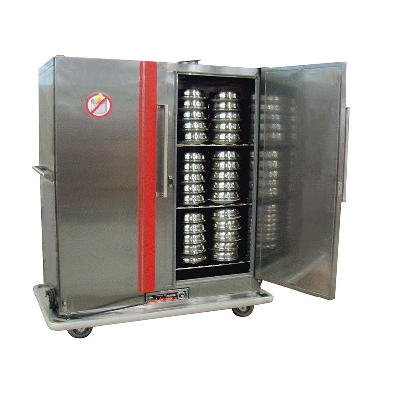 Carter-Hoffmann BR150 Heated Banquet Cabinet w/ Heat Retention, 150 Plate Capacity