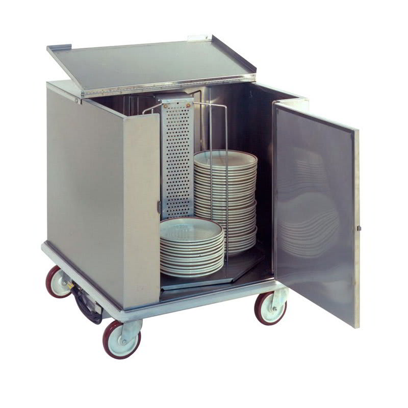 "Carter-Hoffmann CD252H Heated Enclosed Dish Cart, Dish Dividers for 252 11"" Plates"