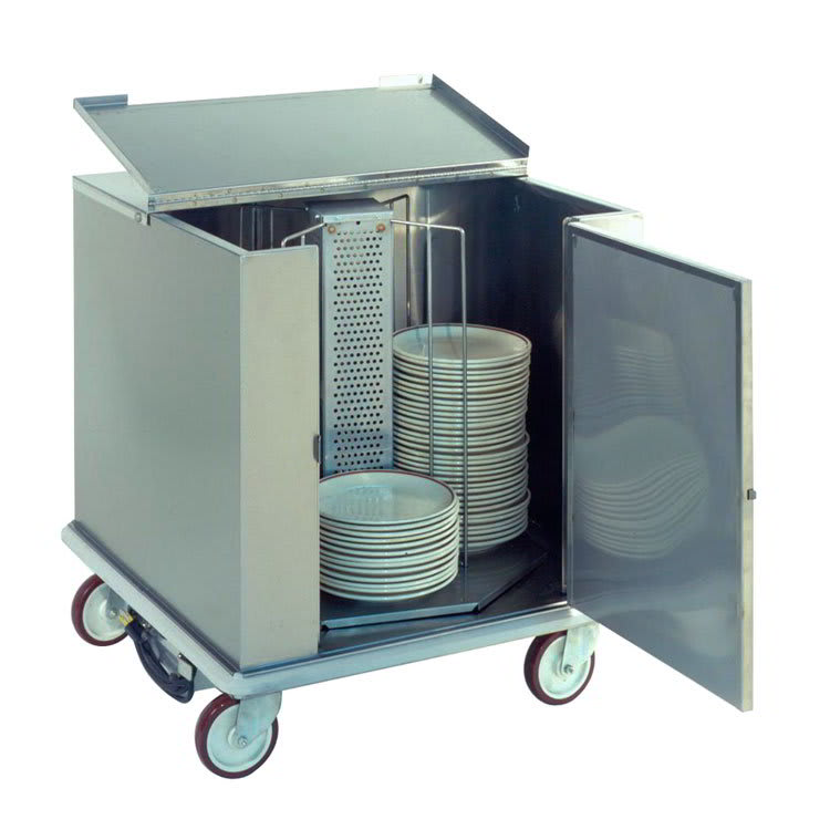 "Carter-Hoffmann CD260 Unheated Enclosed Dish Cart, Dish Dividers for 252 12.5"" Plates"