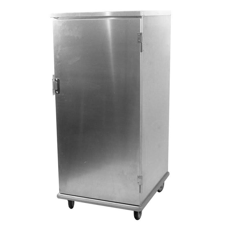 Carter-Hoffmann E8610V 3/4 Height Non-Insulated Mobile Unheated Cabinet w/ (10) Pan Capacity