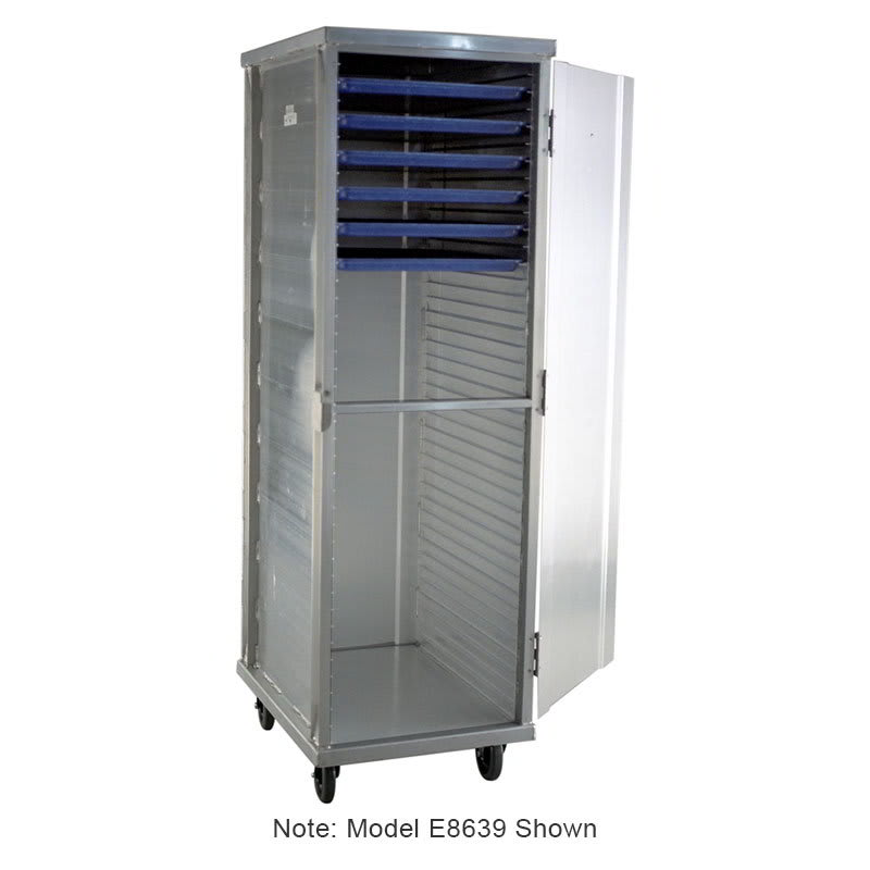 Carter-Hoffmann E8631H 3/4 Height Non-Insulated Mobile Heated Cabinet w/ (26) Pan Capacity, 120v