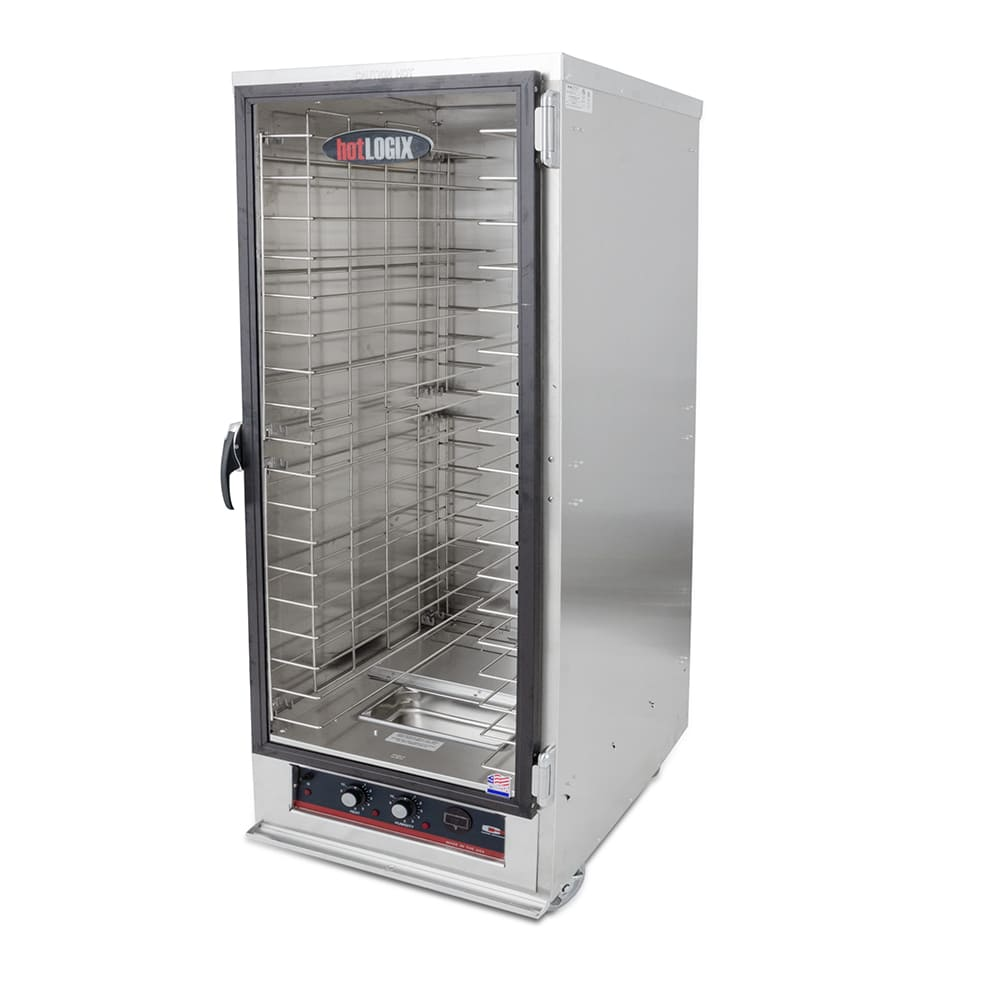 Carter-Hoffmann HL2-18 Full Height Non-Insulated Mobile Heated Cabinet w/ (18) Pan Capacity, 120v
