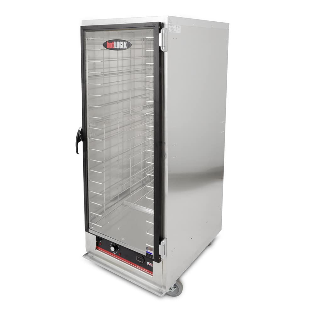 Carter-Hoffmann HL3-18 Full Height Insulated Mobile Heated Cabinet w/ (18) Pan Capacity, 120v