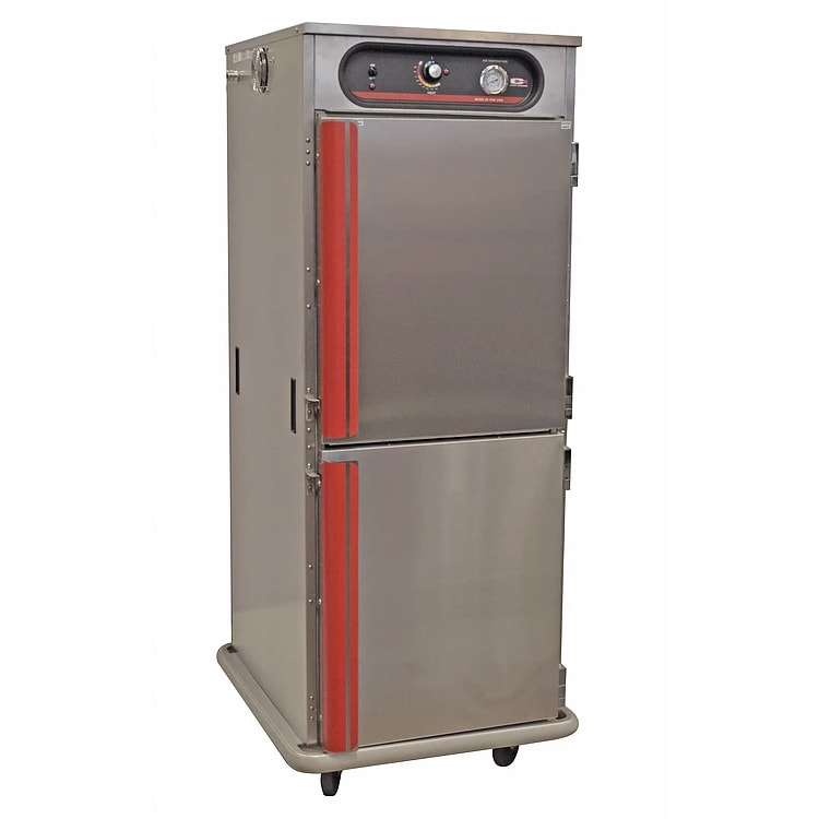 Carter-Hoffmann HL7-1812 Full Height Insulated Mobile Heated Cabinet w/ (12) Pan Capacity, 120v