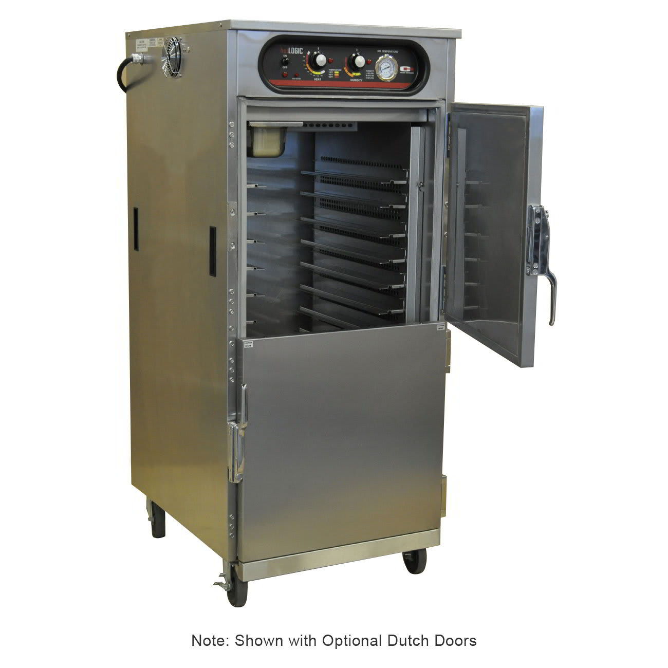 Carter-Hoffmann HL9-14 3/4-Height Mobile Heated Cabinet w/ (14) Pan Capacity, 120v