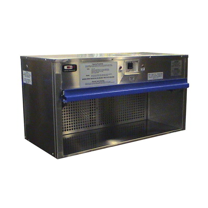 "Carter-Hoffmann HP42 42"" Plate Warmer w/ Removable Grease Filters, Flip-Up Door"