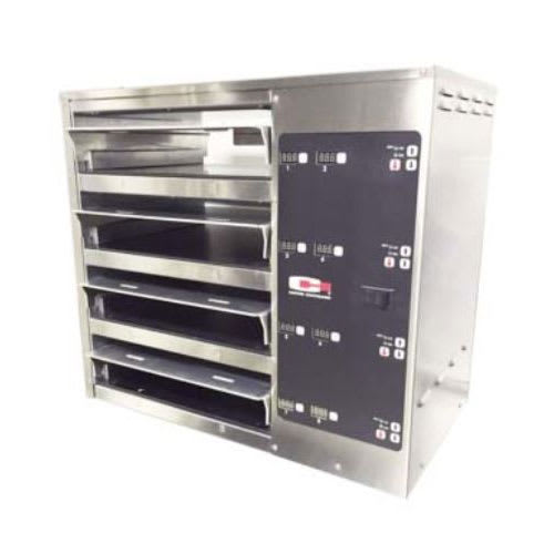 Carter-Hoffmann MC423GS-2T Countertop Heated Holding Cabinet w/ (4) Pan Capacity - Stainless, 120v